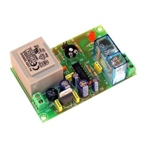 Cebek I-136 (CI136) - 230Vac Delayed-On Timer Relay Module, 1 to 180 Second