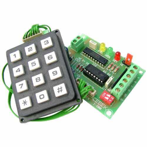 BCD Generator Keyboard Module