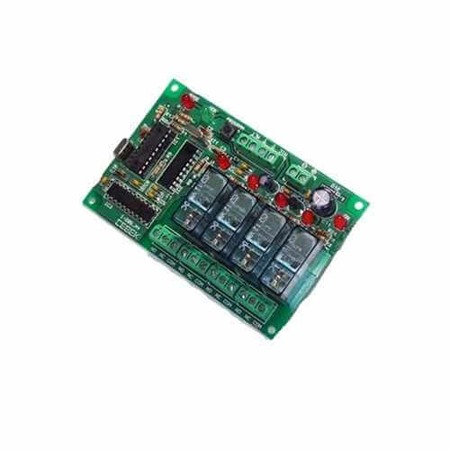 4-Channel Mobile Phone Remote Control Relay Board