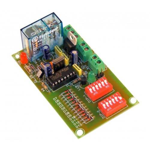 1-4 Day Precision Delay Timer Relay Board, 1 Hour Segments