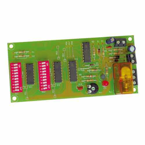 12Vdc Precision Delay Timer Module, 1-99 Second