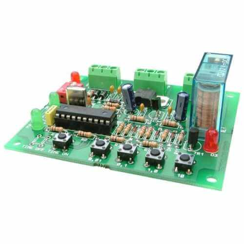 14-Mode Programmable Long Delay Timer Relay Board , 1 Sec - 497 Days