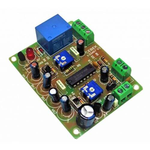 24Vdc DOUBLE Delay Timer Relay Module, 0.1 Sec to 4 Min