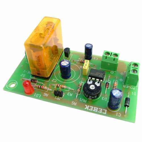 12Vdc Turn-Off Delay Timer Relay Module, 2 to 45 Minute