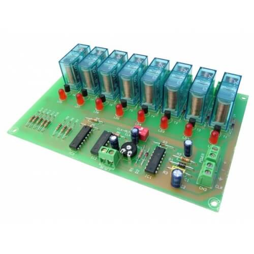 Cebek I-55 (CI055) - 8 Channel Sequential Controller Relay Module