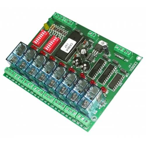 8 Channel Flexible Sequential Relay Controller Module