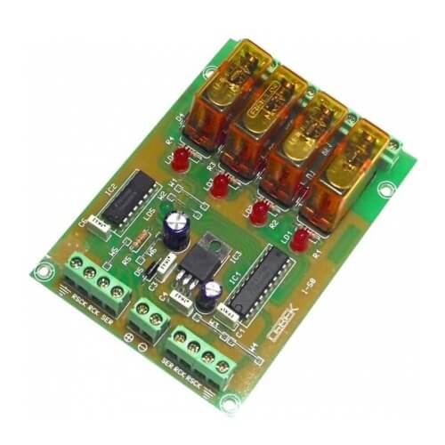Cebek I-58 (CI058) - 4 Channel Expansion Module for CI057