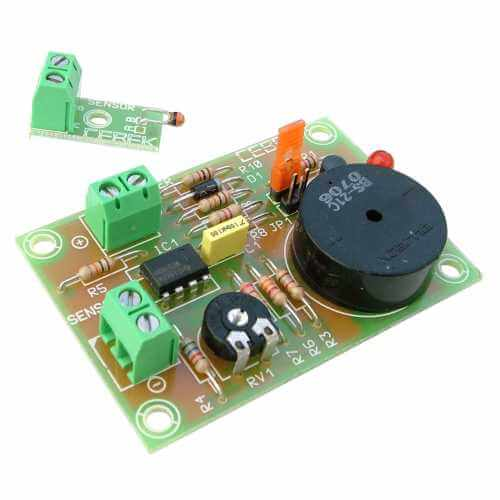 12Vdc Under/Over Temperature Alarm Module, 0 to +100°C