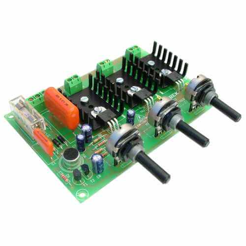 230Vac 3-Channel Psychedelic Light Module