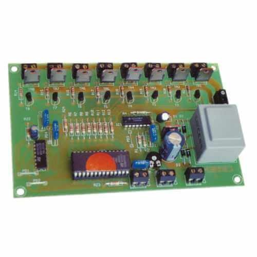 Cebek L-8 (CL08) - 230Vac 8-Channel Sequential Light Controller Module