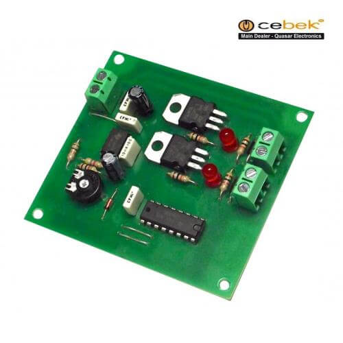 Cebek LS-2 (CLS02) - 12Vdc 2-Channel Sequential Light Controller Module