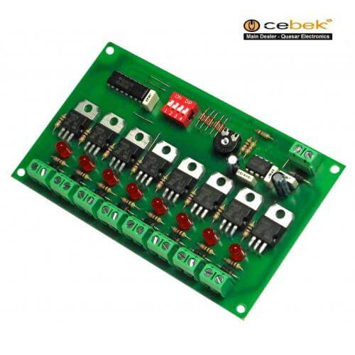 12Vdc 8-Channel Sequential Light Controller Module