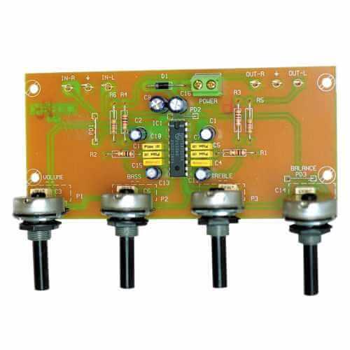 Stereo Tone Control Pre-Amp Module