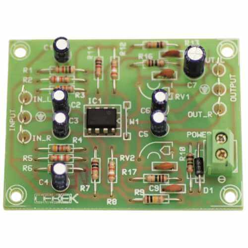 Cebek P-4 (CP04) - RIAA Stereo Magnetic Pick Up Pre-Amp Module