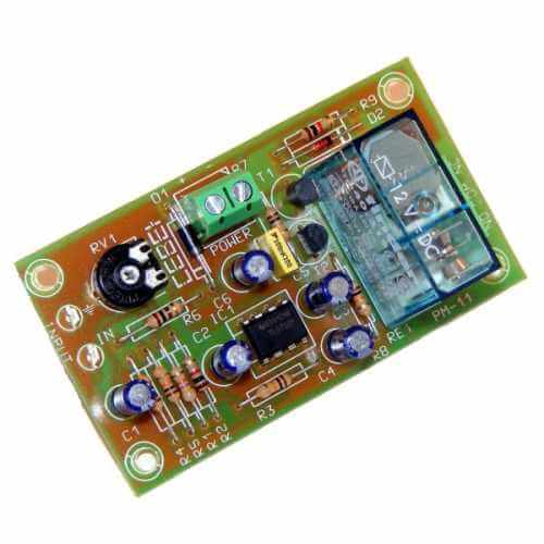 Audio Signal Controlled Relay Switch Module