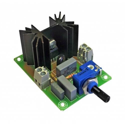 AC Motor Speed Controller Module, 230Vac 50Hz, 1500W