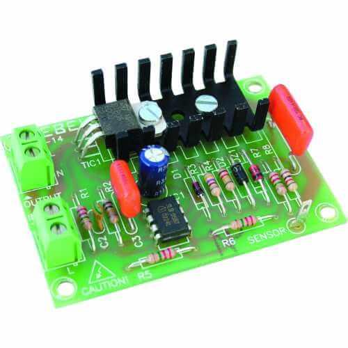 Touch Plate Mains Light Dimmer Module, 230Vac 50Hz, 500W