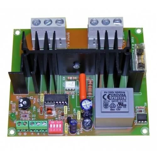 AC Motor Speed Controller, DC Signal/Pot 230Vac, 5000W