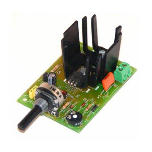 DC Motor Speed Controller Module, 6-16V, 3A
