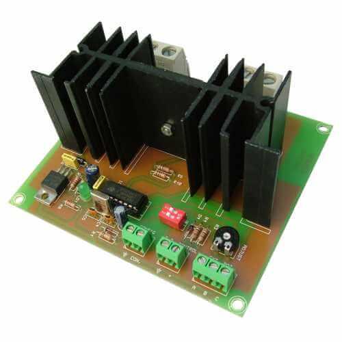 DC Motor Controller (DC Signal/Pot) Module, 8-30V, 25A
