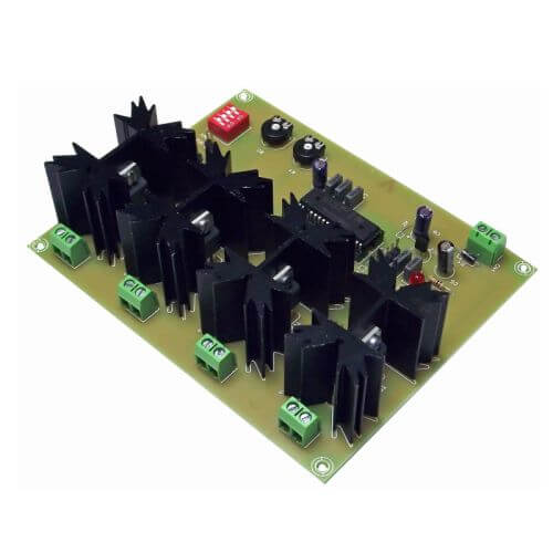 4 Output Cyclical Night/Day Lighting Controller (12Vdc, 4A)