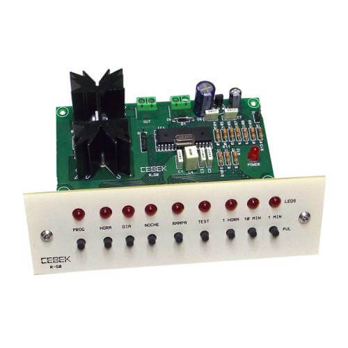 Cebek R-50 (CR050) - 24Hr Programmable Bird/Terrarium Lighting Controller (12Vdc, 4A)