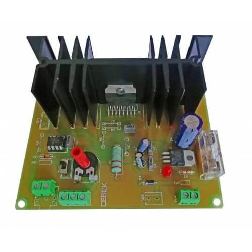 Reversing DC Motor Controller Module, 12Vdc 2A