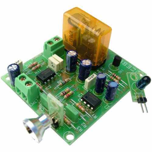 Infrared (IR) Barrier Relay Module