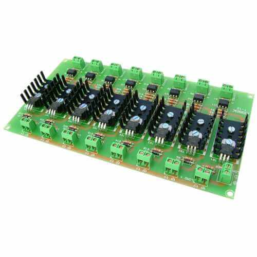 Cebek T-12 (CT012) - 8-Channel Isolated IO MOSFET Board Module