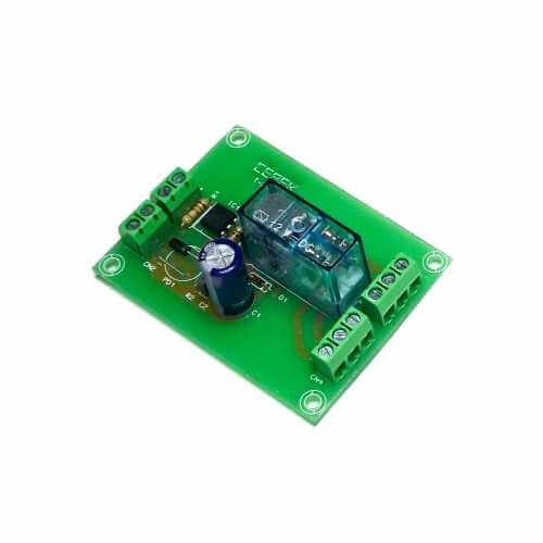 Cebek T-24 (CT024) - 12Vdc 1-Channel Isolated IO DPDT Relay Board Module