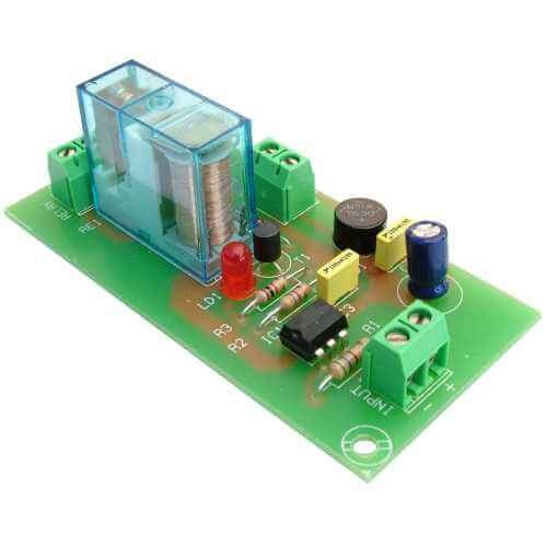 Cebek T-4 (CT004) - 12Vdc 1-Channel Isolated IO SPDT Relay Board Module