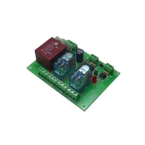 Cebek T-45 (CT045) - 230Vac 2-Channel Isolated IO DPDT Relay Board Module