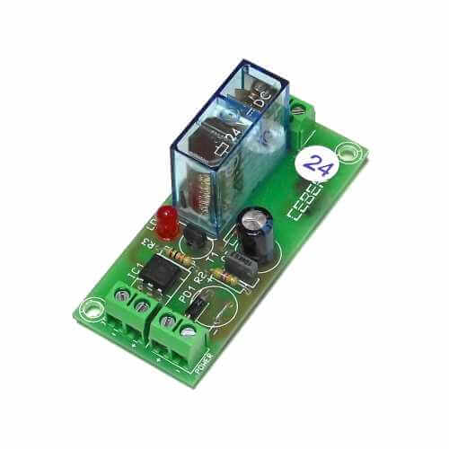 24Vdc 1-Channel Isolated IO SPDT Relay Board Module