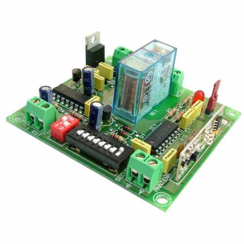 1-Channel Momentary / Toggle Relay Receiver Module, 12Vdc