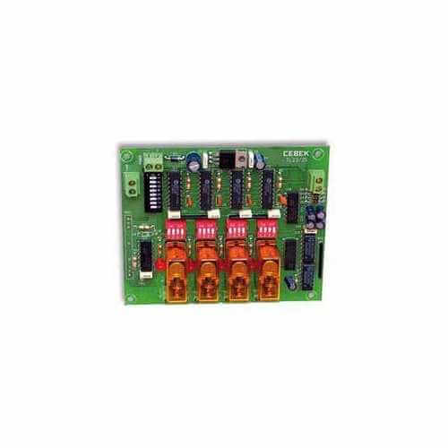 Cebek TL-24 (CTL024) - 4 Channel Momentary Relay Extension Module
