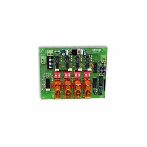 Cebek TL-25 (CTL025) - 4 Channel Toggling/Latching Relay Extension Module