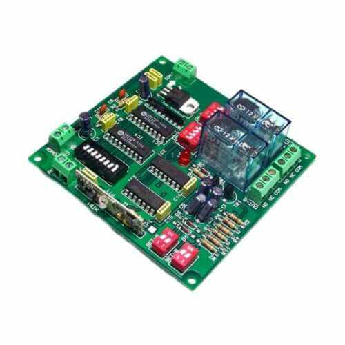 Cebek TL-27 (CTL027) - 2 Channel Expandable Latching/Momentary Relay Receiver, 12Vdc