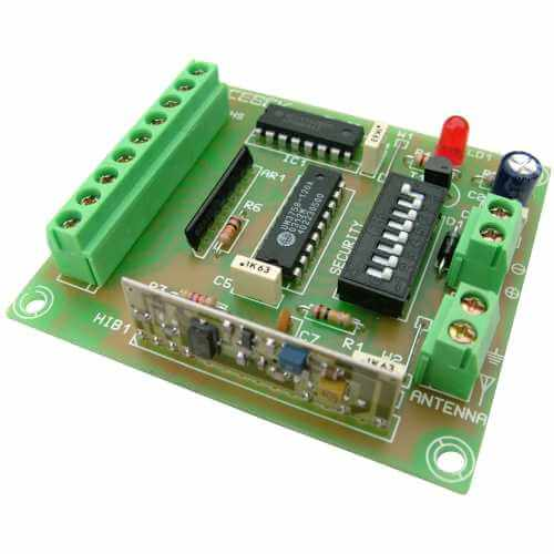 8 Channel Industrial RF Remote Control Transmitter Module, 100m