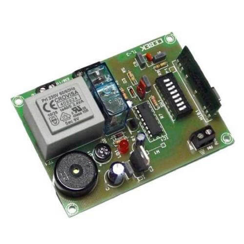 1 Channel Momentary Relay Receiver Module, 230Vac