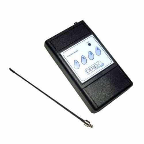 4 Channel Handheld Remote Control Transmitter, 300m