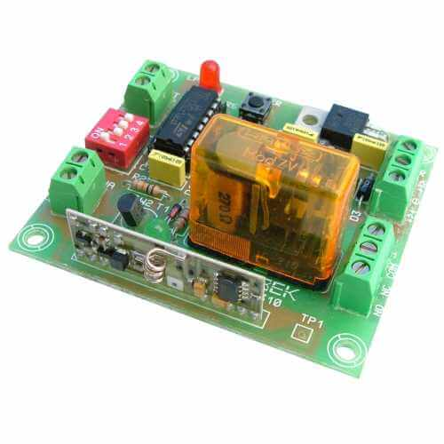 Cebek TL-310 (CTL310) - 1-Channel Momentary, Toggle, Timer RF Relay Receiver, 12/24Vdc (Group 3)