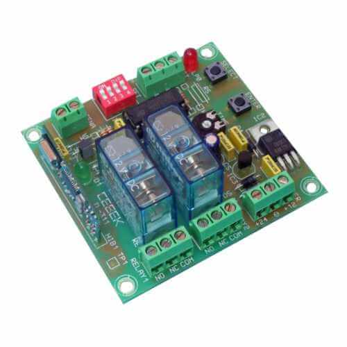 Cebek TL-311 (CTL311) - 2-Channel Momentary / Toggle / Timer Relay Receiver Module, 12/24Vdc (Group 3)