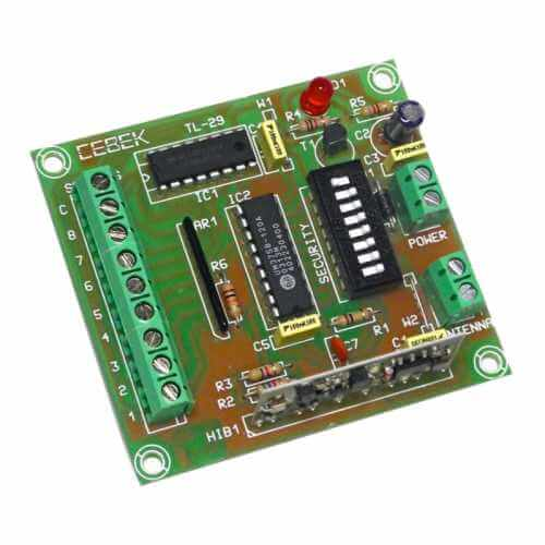 Cebek TL-39 (CTL039) - 8 Channel Industrial RF Remote Control Transmitter Module, 300m