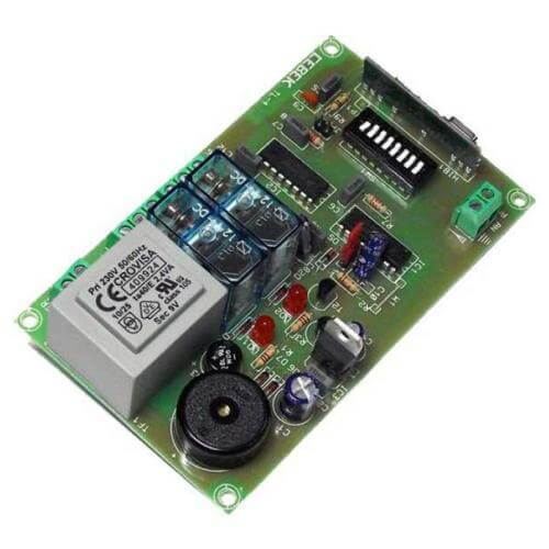 2 Channel Momentary Relay Receiver Module, 230Vac