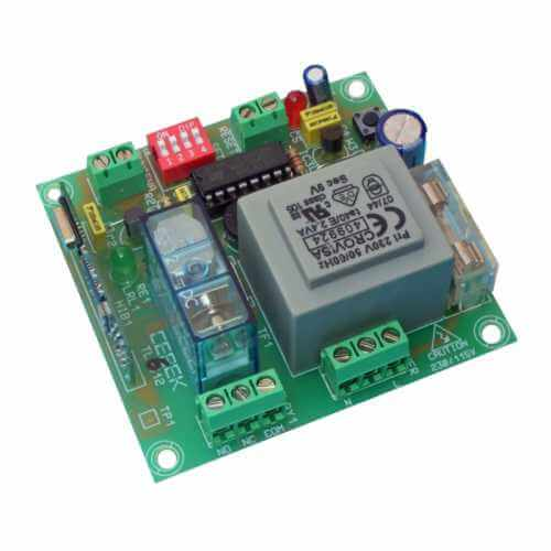 Cebek TL-612 (CTL612) - 1-Channel 230Vac Momentary / Toggle RF Receiver Module (Group 3)
