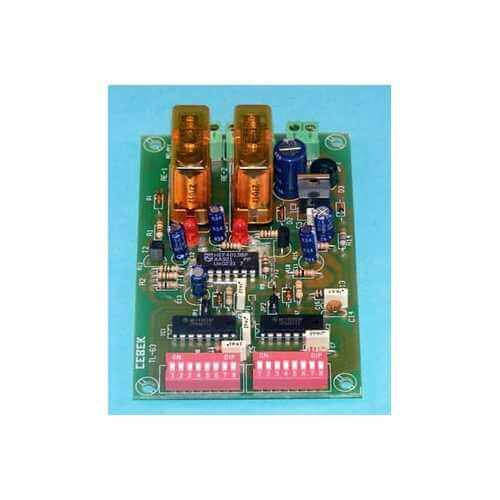 Cebek TL-63 (CTL063) - 2-Channel Multiplex Relay Receiver Module (Latching)