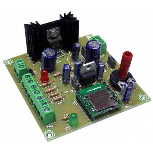 MP3 Player Module for Micro SD Card, 5W RMS