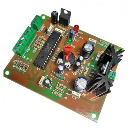 Cebek TR-30 (CTR030) - WAV File Audio Message Player Module for Micro SD Card, 5W RMS