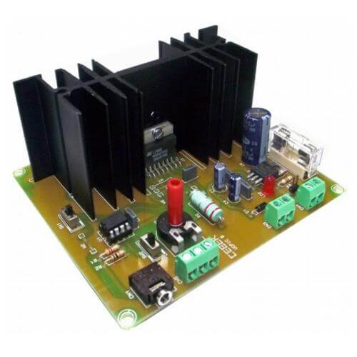 PICAXE 08M2 2A DC Motor Controller L298D Development Board