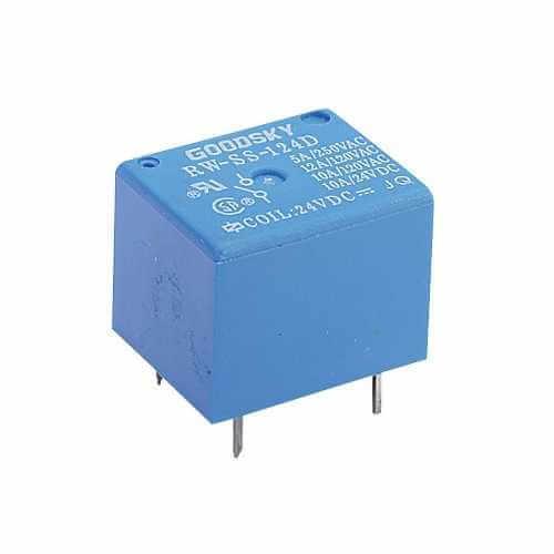Goodsky Miniature SPDT PCB Relay, 12V Coil